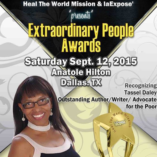 Extra Ordinary People Awards Advocate of the Year 2015