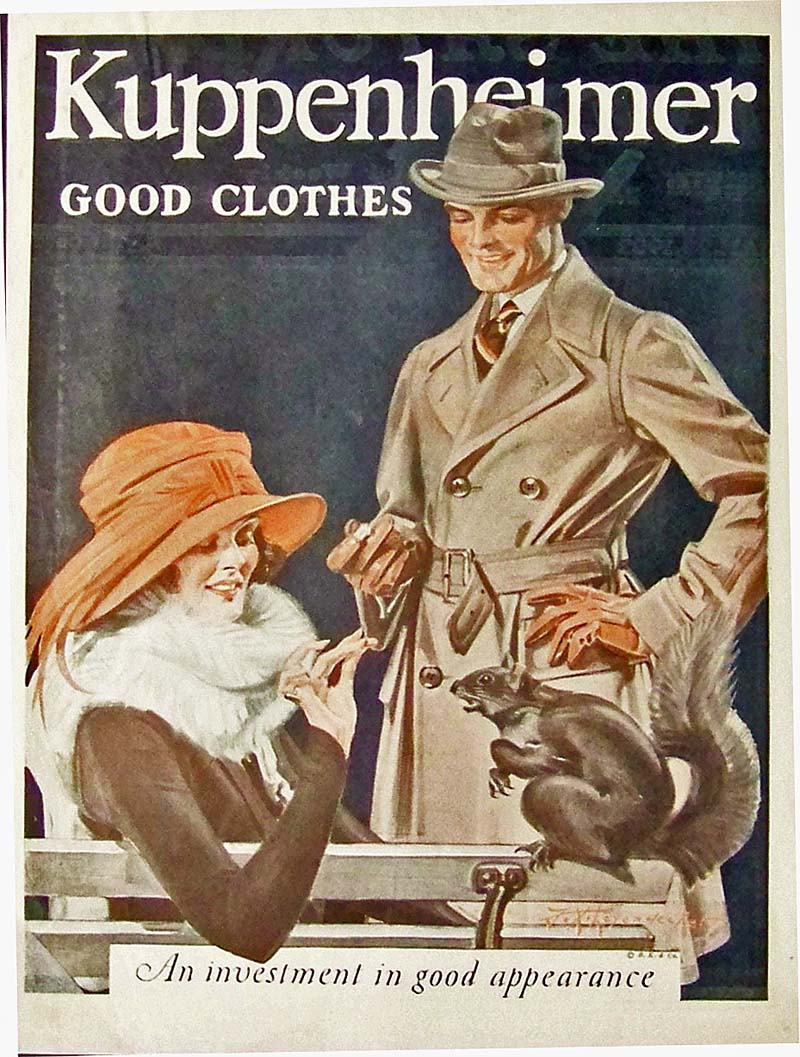 Dressing Like Heroes Vintage Men S Fashion Ads From The 1920s