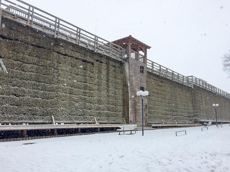 Bad Und Mehr Münster jolinas welt weihnachtsmarkt bad münster am stein im schnee