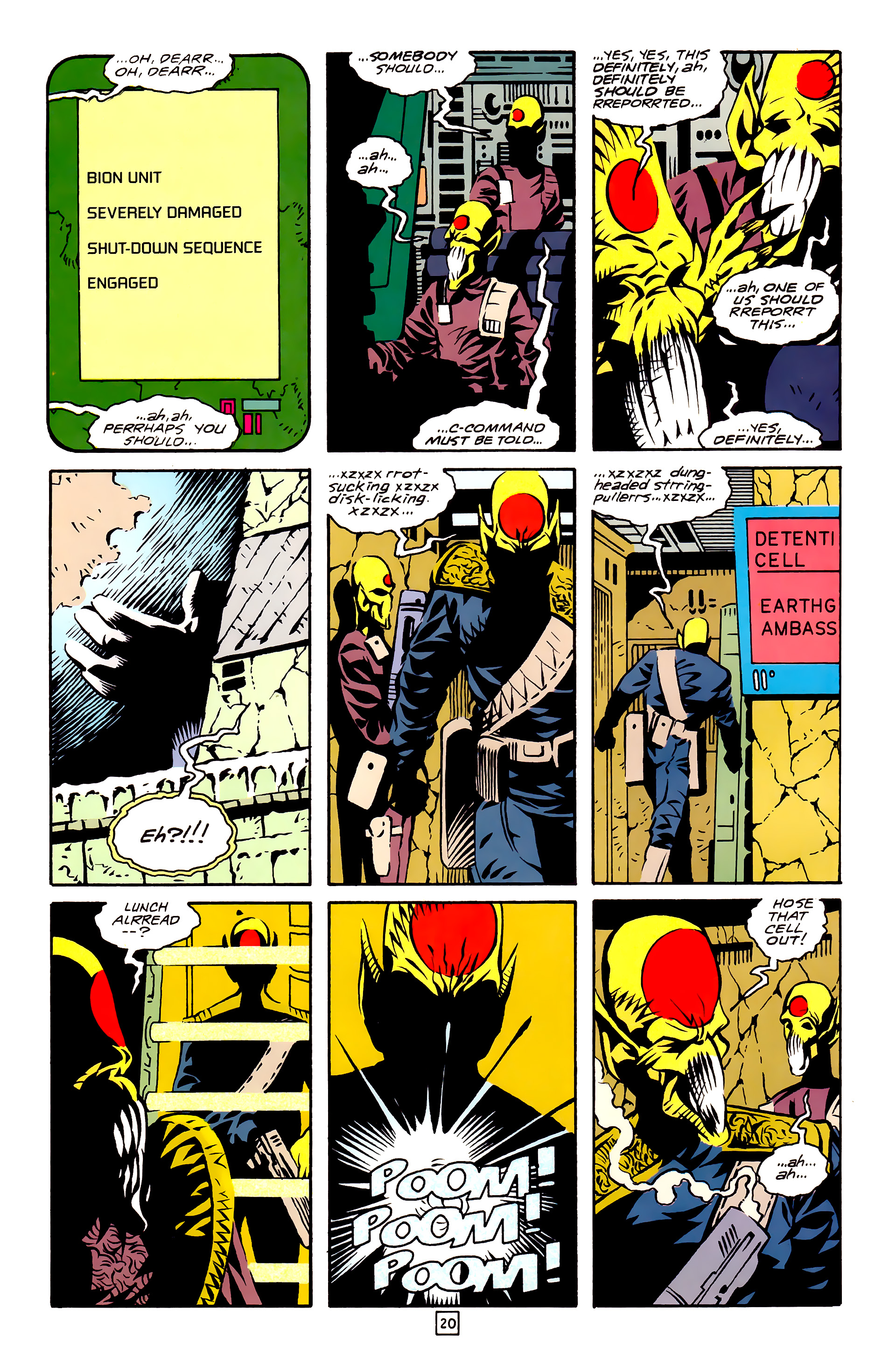 Legion of Super-Heroes (1989) 27 Page 20