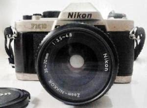 Nikon FM10 tampak depan
