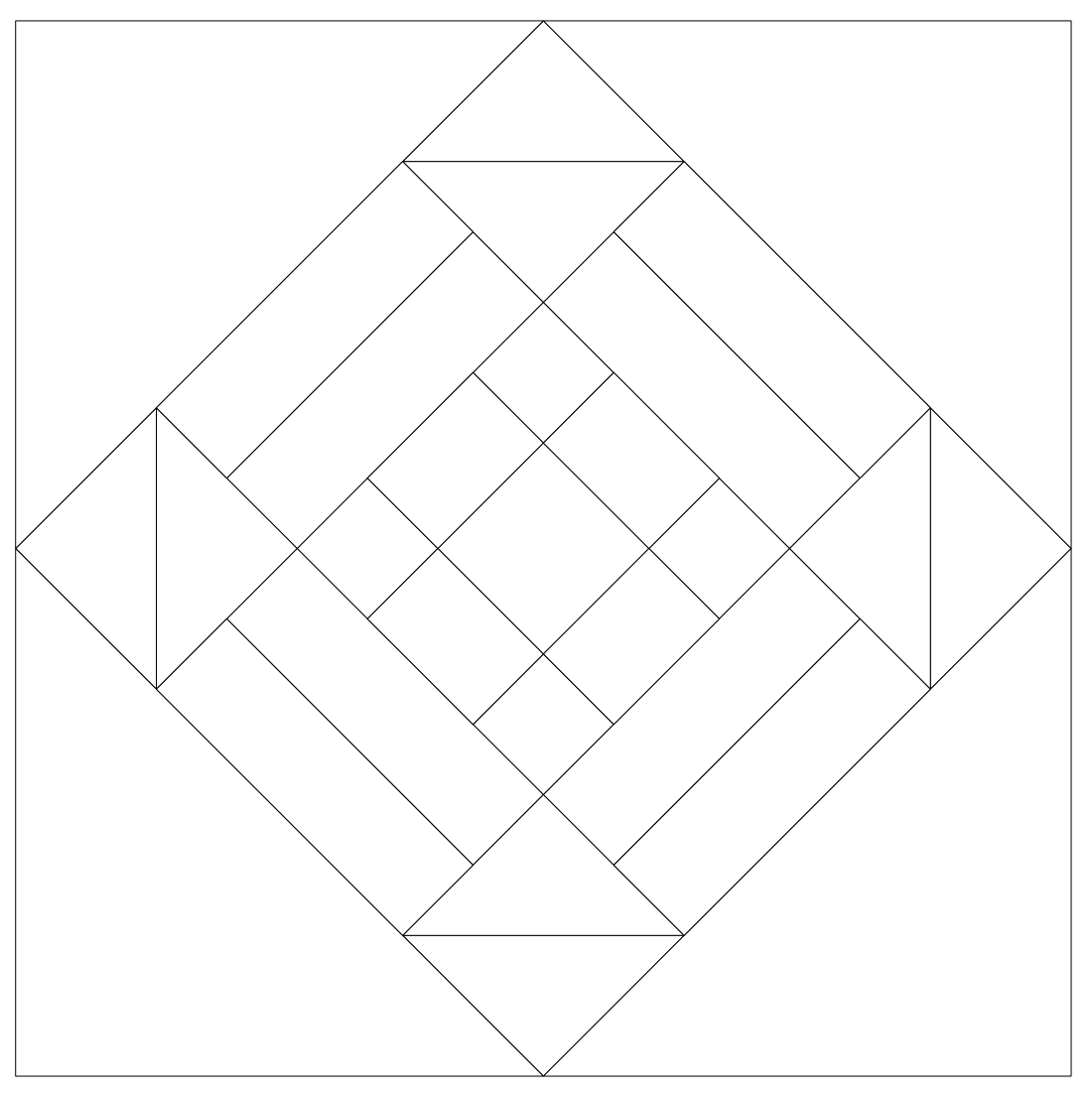 Imaginesque: Quilting: Quilt Block 26, Pattern and Templates