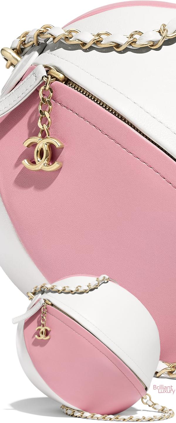 Brilliant Luxury♦Chanel Beach Ball Handbag #pink