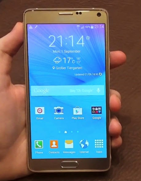 samsung Galaxy note 4 specs, features and price