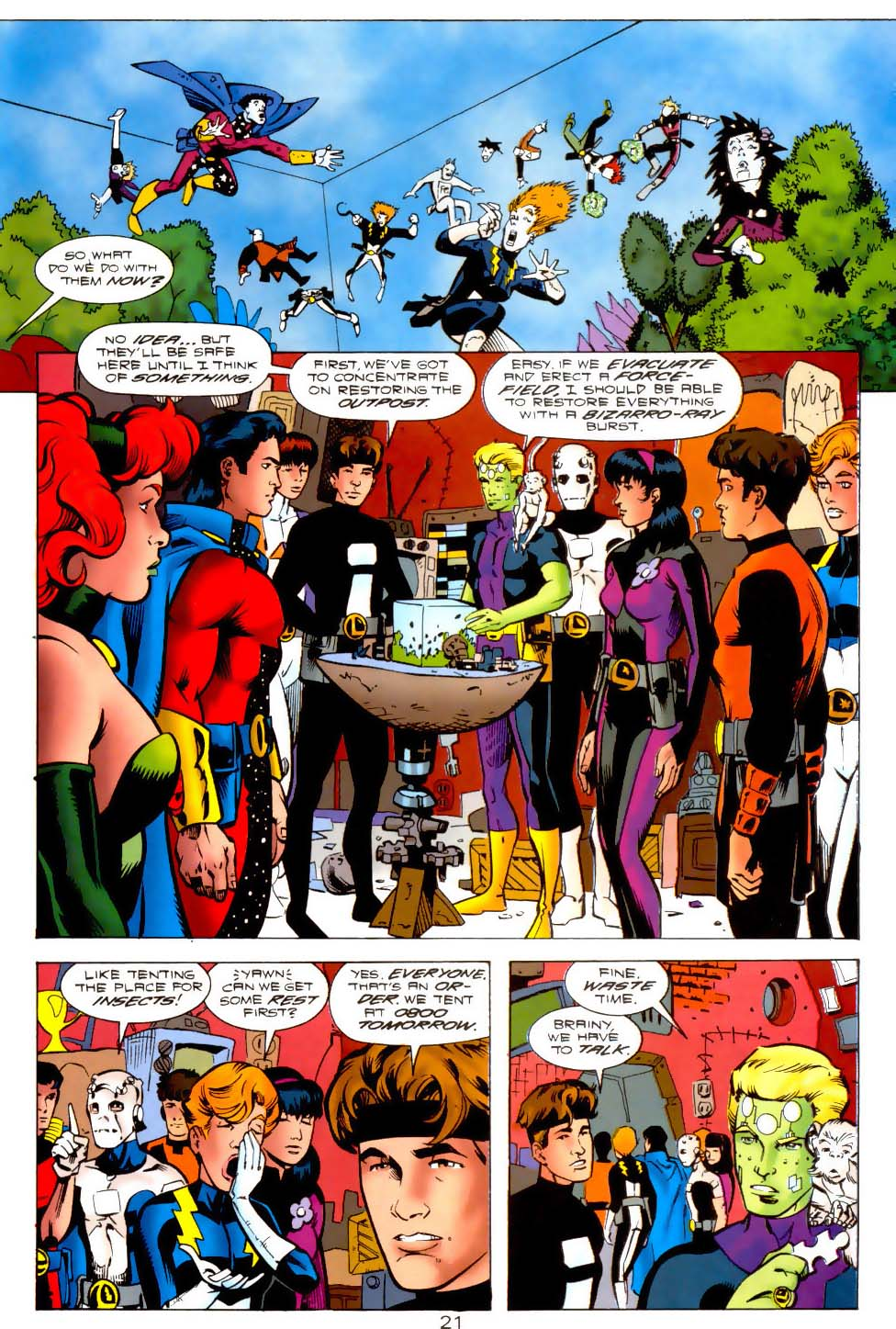 Legion of Super-Heroes (1989) 115 Page 20