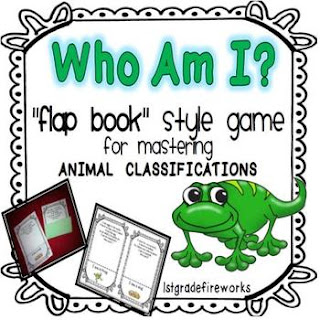 Who Am I Flapbook Game