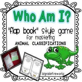 Who Am I Flapbook Game