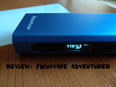 Vaporizador FocusVape Adventurer
