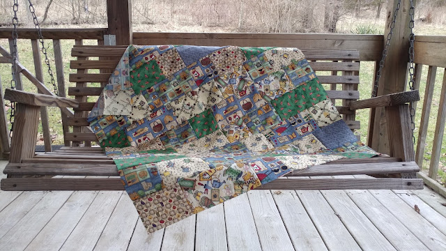 Charity quilt using The Road Trip pattern by Cluck Cluck Sew