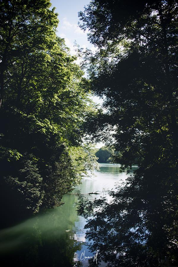 clemence m blogueuse lyon photo parc tête d'or lac
