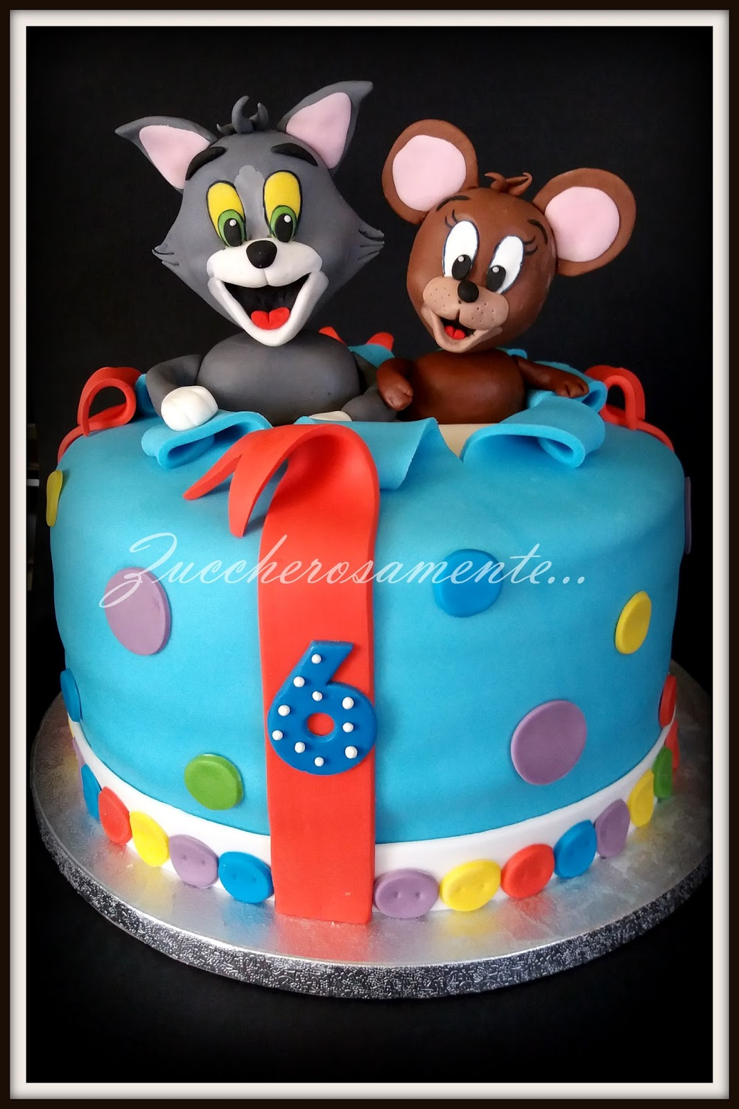 Tom And Jerry Cake Decorations For Sale