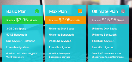 basic.max.ultimate.hosting plan.winhost