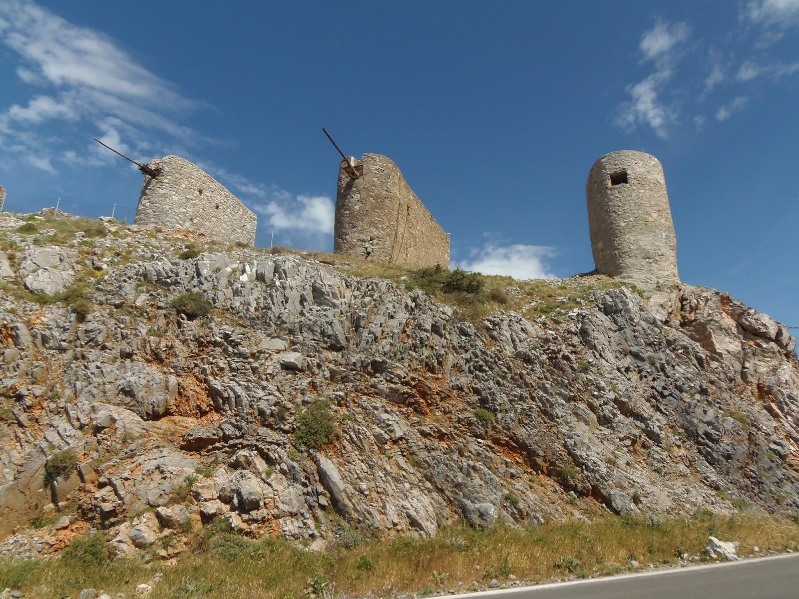 windmills, travel, crete, greece, greek, water, food, traditional, history, ancient history, traveling, adventure, jeep safari
