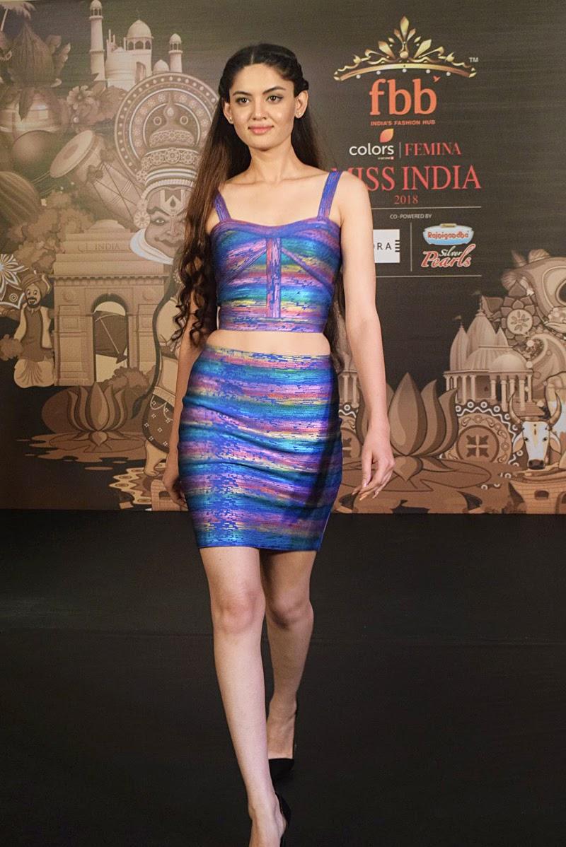 Model Muskan Golash will represent Rajasthan in Femina Miss India 2018