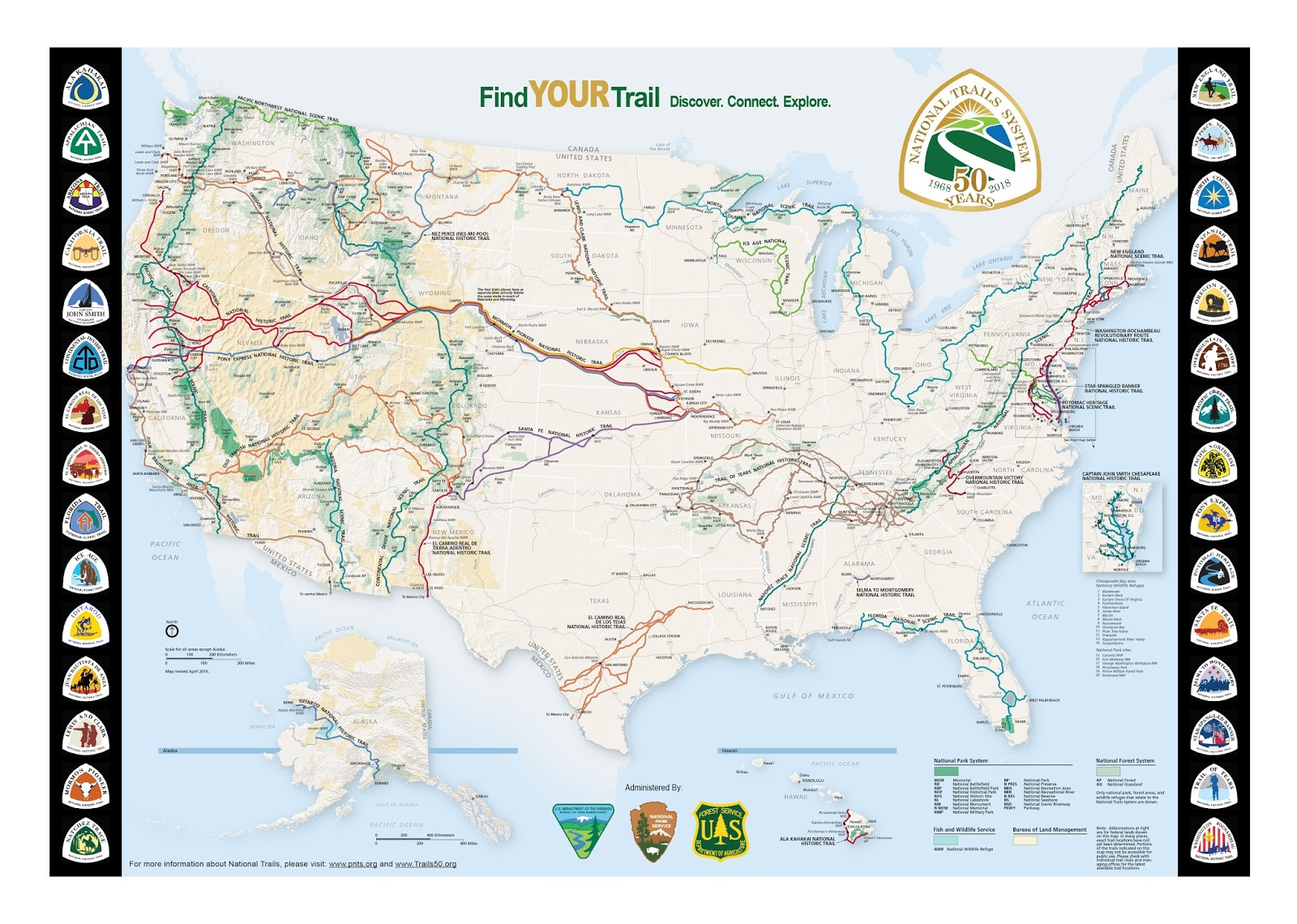 Heart and Sole: The Fifty Trail - Guide to a Trail that Connects the