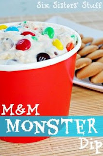 M&M Monster Dip by Six Sisters' Stuff.