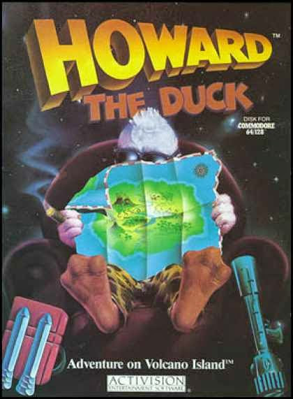 Howard the Duck: Adventure on Volcano Island (Commodore 64) Activision 1987 **/12