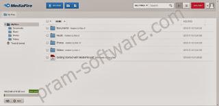Files Manager di MediaFire