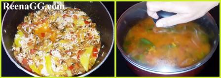 Punjabi Badi Pulao recipe step