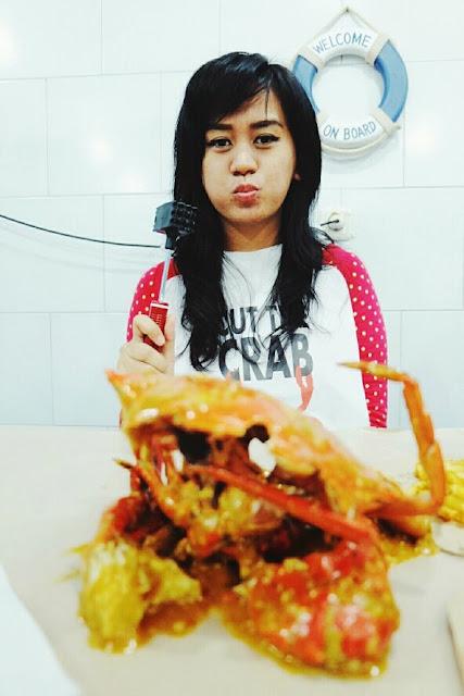 review makan di cut the crab jakarta