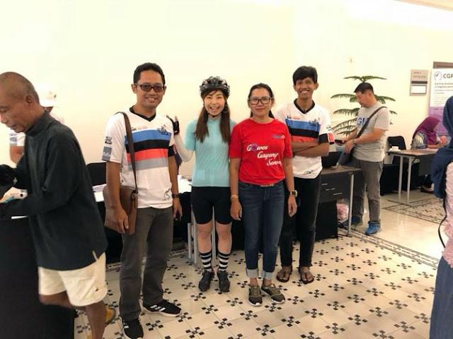 Foto bersama peserta dari Jepang/ Sumber Facebook Akemi  Takeuchi