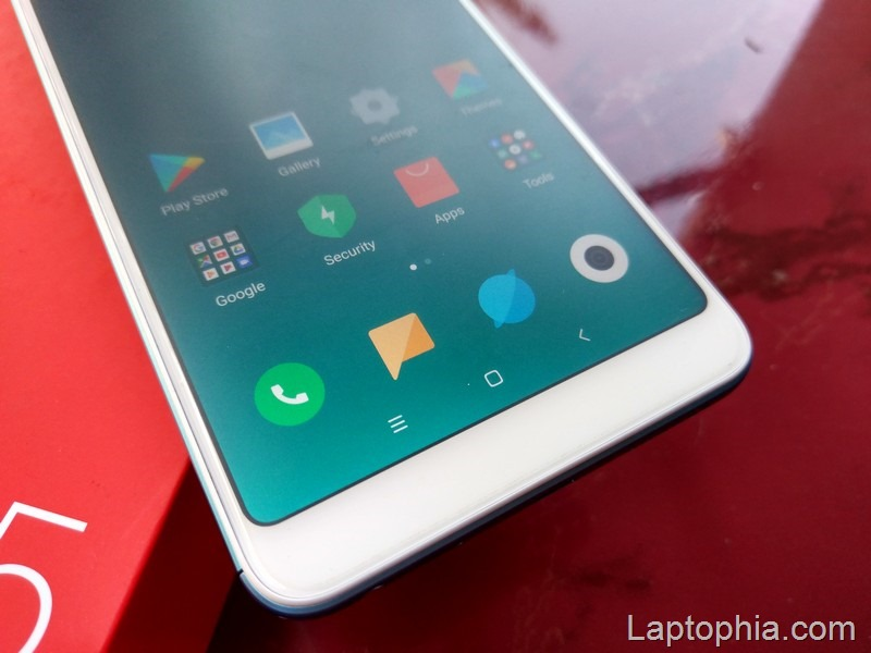 Desain Xiaomi Redmi Note 5