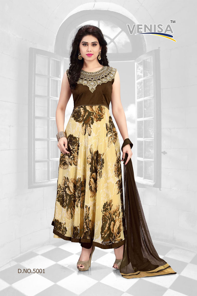 Rich Feel 5 – Ready Made Party Wear Anarkali Suit