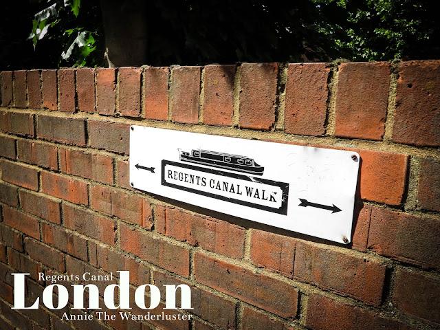 英國景點/北倫敦/攝政運河