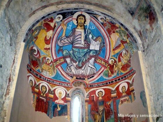 Frescos de la Iglesia de San Clemente de Taull, Valle de Boí, Lérida