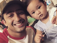 Shaheer Sheikh is very fond of the children