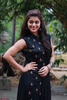 Actress Yamini Bhaskar in a Tight Black Sleeveless Dress ~  Exclusive 26.JPG
