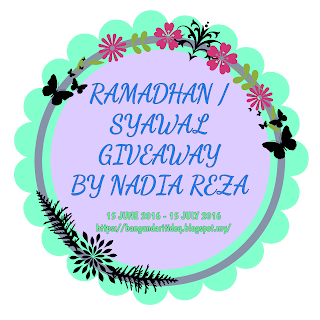 Ramadhan/Syawal Giveaway by Nadia Reza