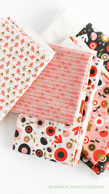 Q2 2018 Finish-A-Long | Shannon Fraser Designs | Oak Print Design Fabrics
