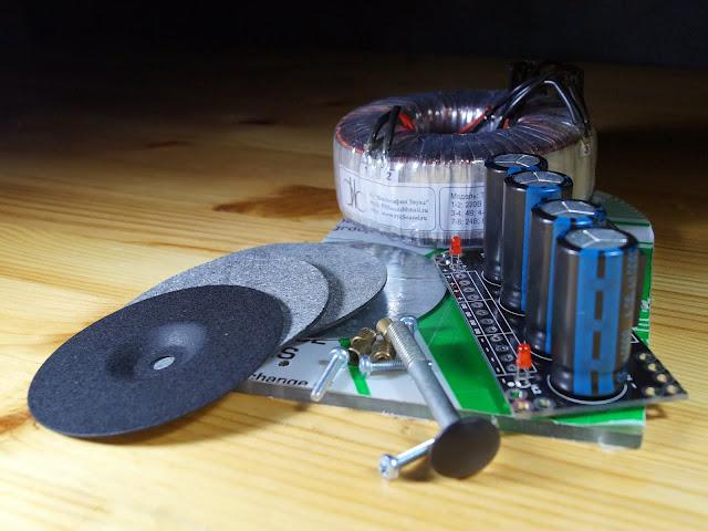 """Все что нужно для сборки БП усилителя """"Кристалл"""" (на микросхеме TDA7294)"""