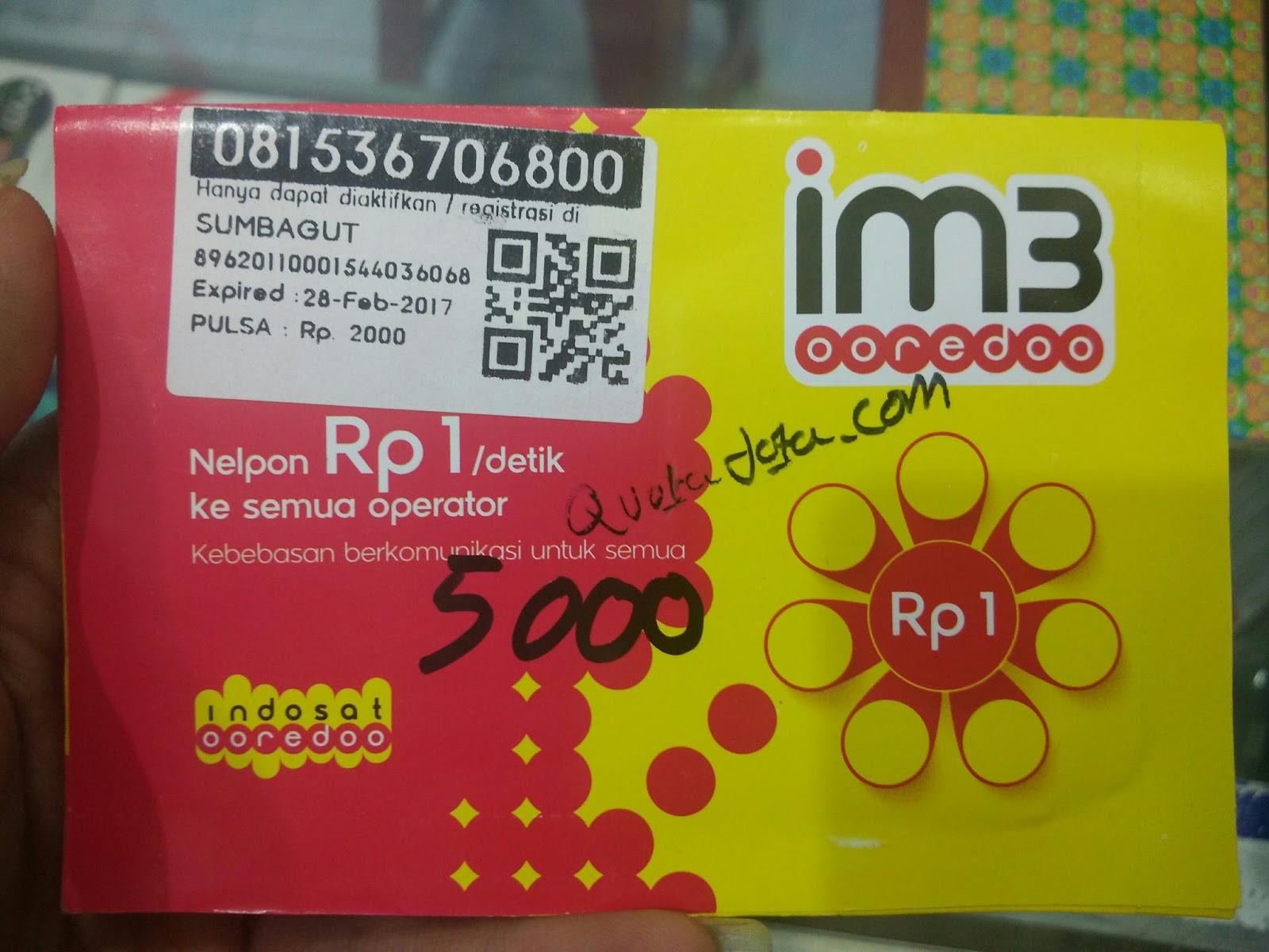 Cara Mendapatkan Kuota Gratis 20GB IM3 Indosat Ooredoo