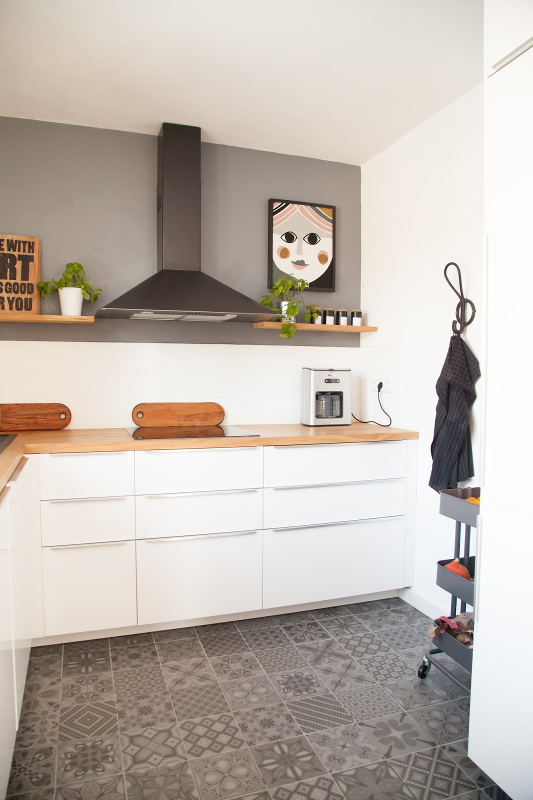 vorher nachher die k che unserer tr ume wohnprojekt wohnblog f r interior diy und lifestyle. Black Bedroom Furniture Sets. Home Design Ideas