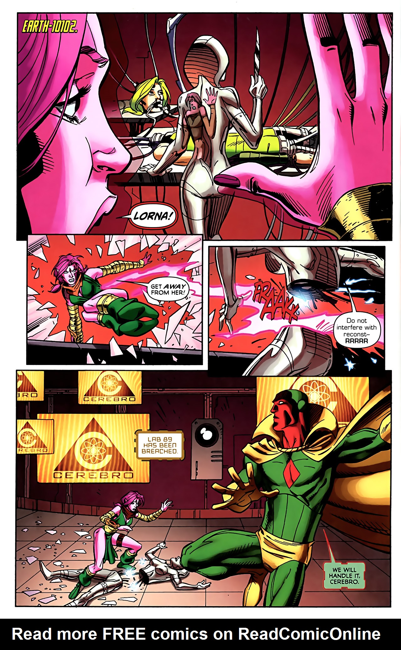 Read online Exiles (2009) comic -  Issue #5 - 4