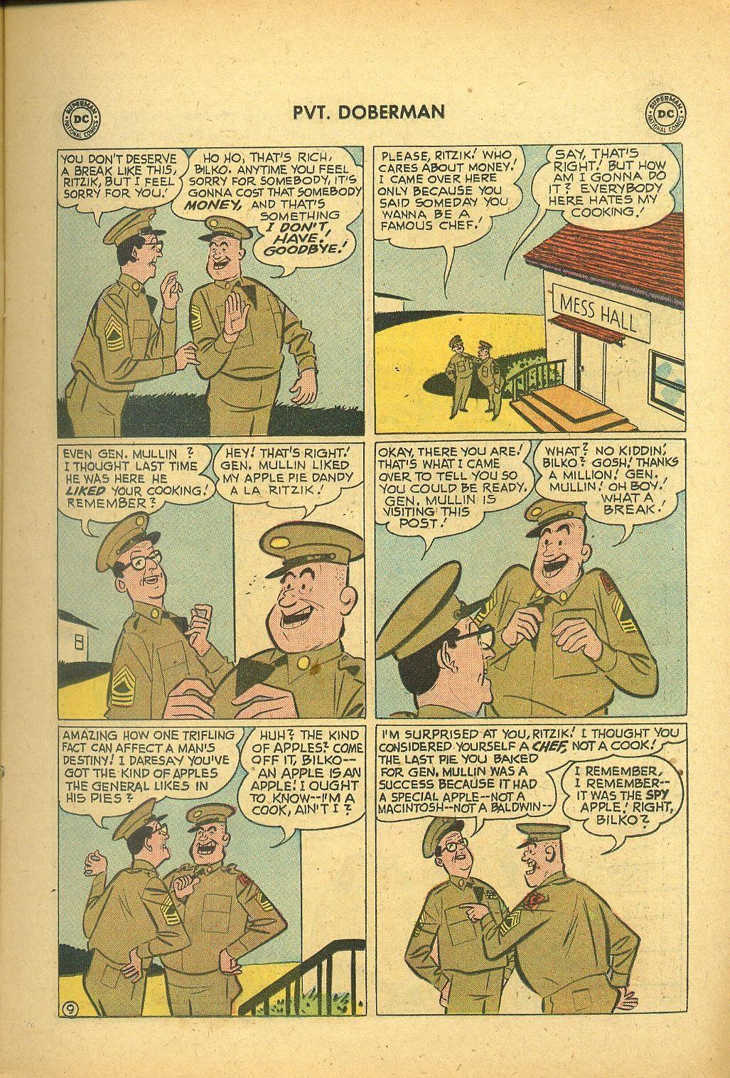 Sgt. Bilko's Pvt. Doberman issue 1 - Page 11