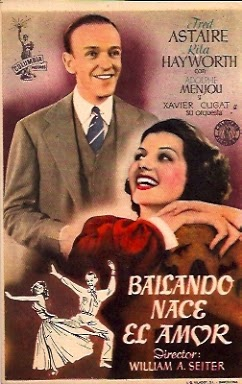 Cover, caratula, dvd: Bailando nace el amor | 1942 | You were never