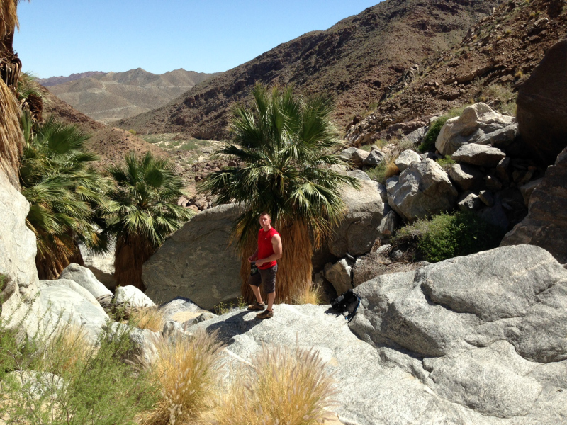 Carrizo Canyon Hike, Palm Springs California, Palm Desert California, Palm Desert Hikes