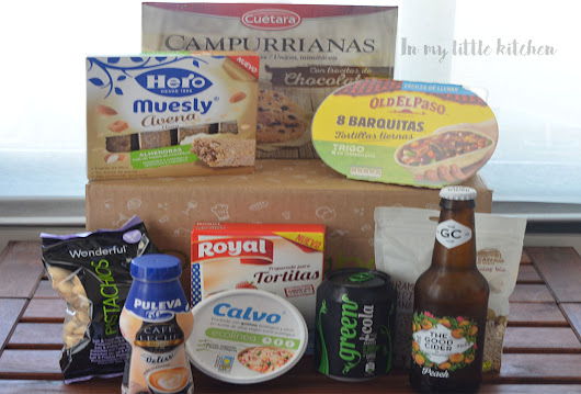 In my little kitchen: Degustabox Junio 2018