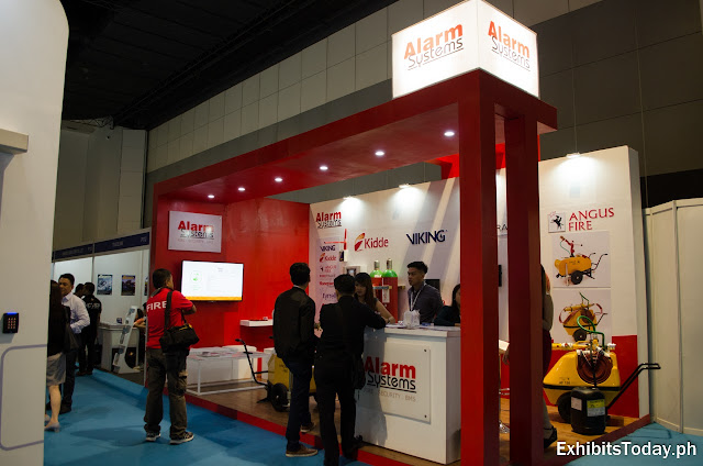 Alarm Systems Exhibit Booth