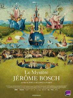 Affiche du film Le Mystère Jérôme Bosch, de José Luis Lopez-Linares cinéma, le jardin des délices