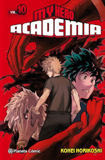 My Hero Academia llega a su número 10