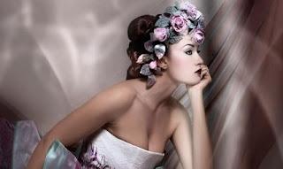 Coronas de flores para tu boda 17