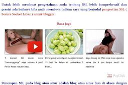 Kode HTML 2 iklan di tengah posting blog