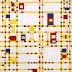 Palma Bucarelli su Mondrian 1956