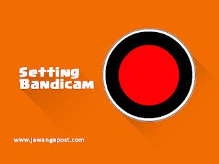 setting bandicam