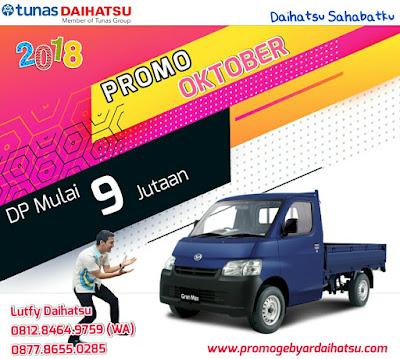 Promo Daihatsu Gran Max Pick Up 2018