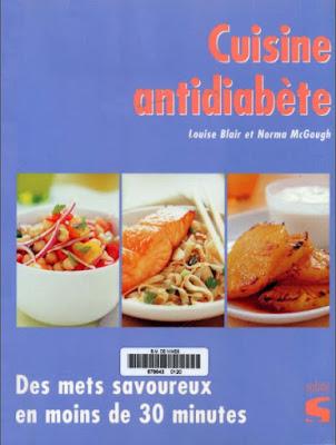 Télécharger Livre Gratuit Cuisine antidiabète pdf